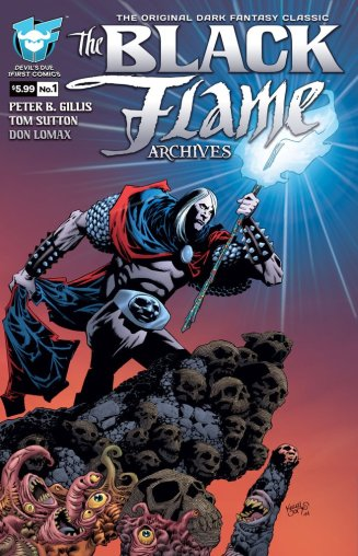 Black Flame (1First) Lineart: , Colors: Sean Forney