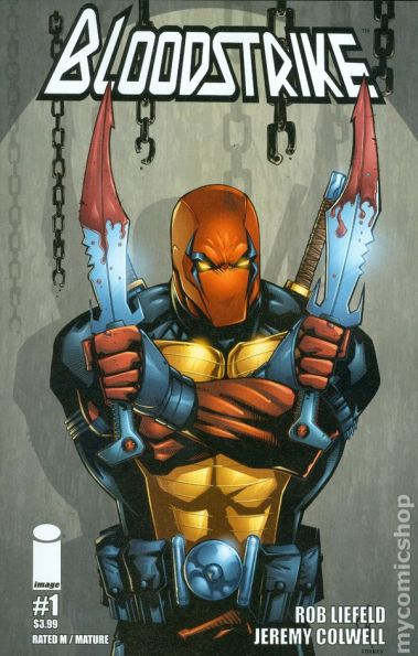Lineart: Rob Liefeld, Colors: Sean Forney