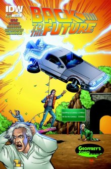 Back to the Future (IDW) Lineart: Karl Alstaetter, Colors: Sean Forney