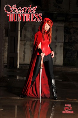 Scarlet Huntress #2 (variant cover), Photography by Renee Needham, Model Brianne Jeanette