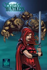 Scarlet Huntress #2 (regular cover), All Art by Sean Forney