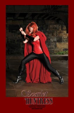 Scarlet Huntress Print, Photography by Renee Needham, Model Brianne Jeanette