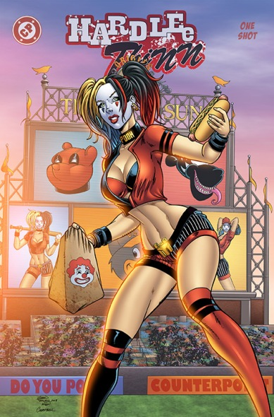 Hardlee Thinn Variant Cover (Counterpoint Comics) - All Art by Sean Forney