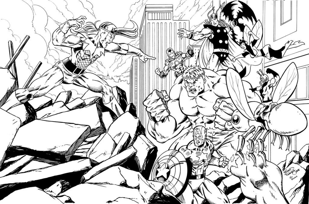 Loki vs. The Avengers